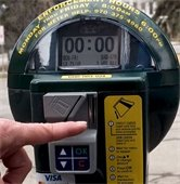 New parking meters and updated map