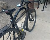 Bike on Manna bike rack