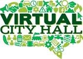 Virtual City Hall logo