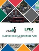 Electric Vehicle readiness plan cover