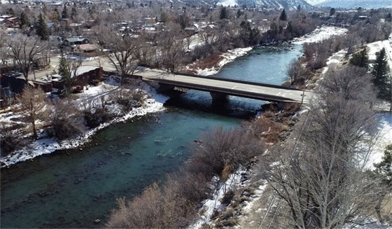 Animas River Trail North Pedestrian Bridge