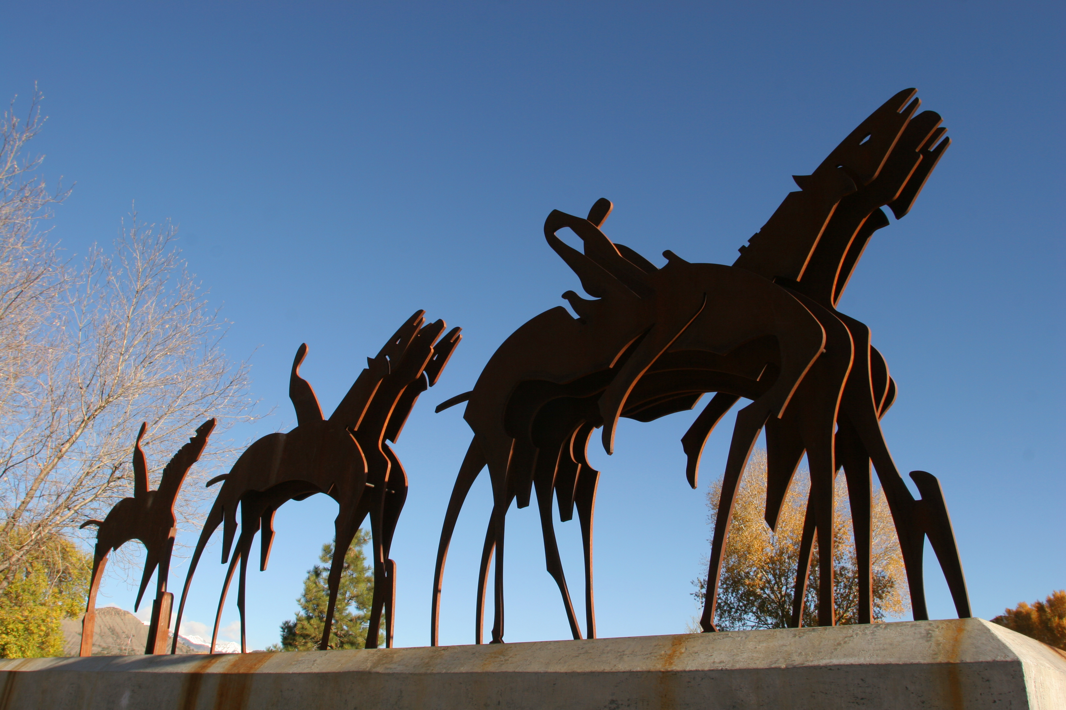 Photo of Parade Formation sculpture