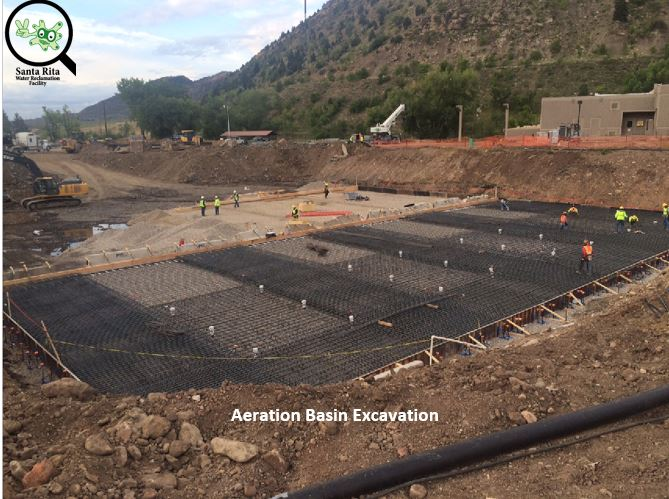 Excavation of Aeration Basin