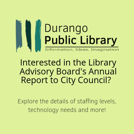 Library report graphic