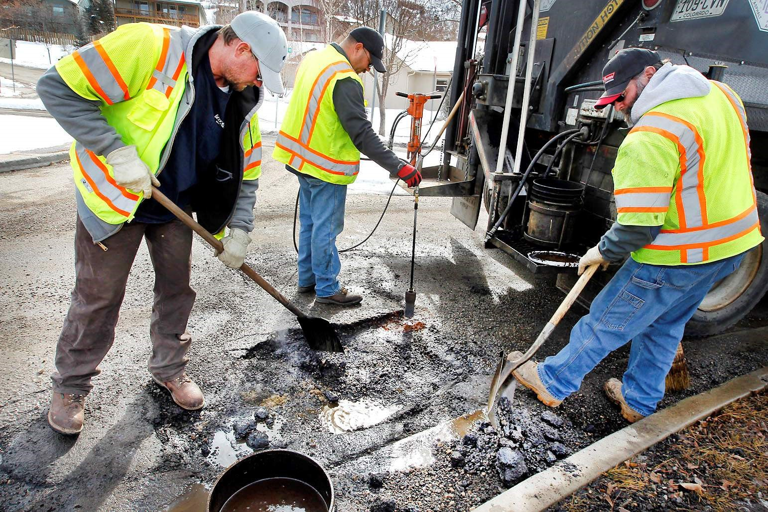 Streets - Pothole patching