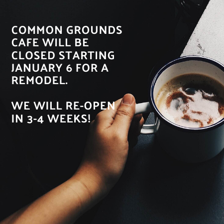 Common Grounds Cafe closure