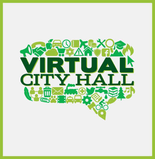 Virtual City Hall news release image