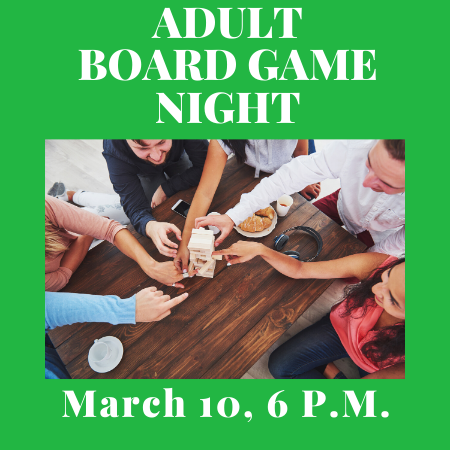 Adult Board Game Night