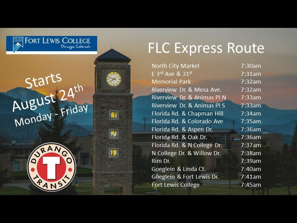 FLC Express Route Info