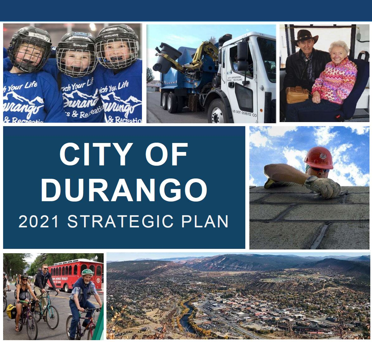 2021 Strategic Plan Cover