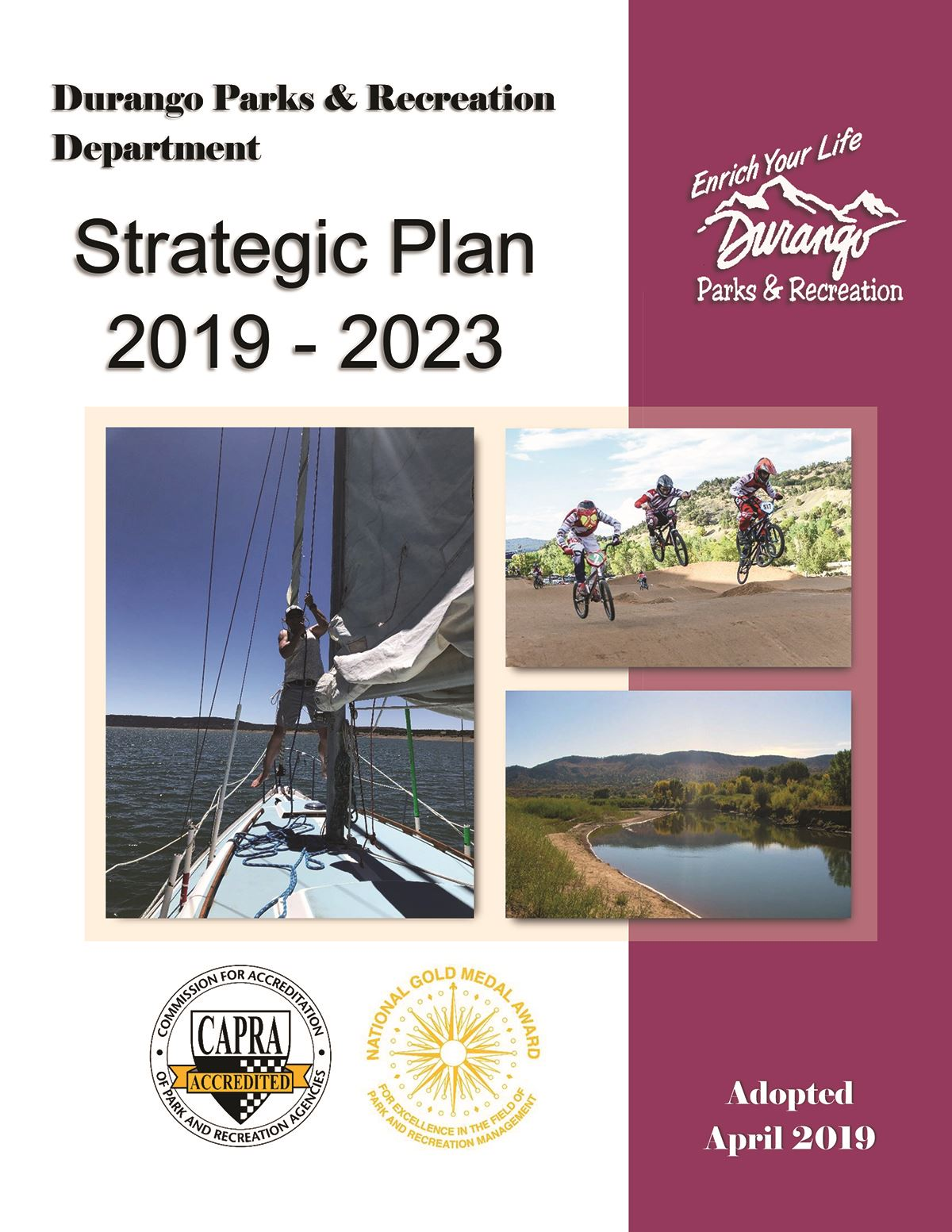 2019 - 2023 Parks and Recreation Strategic Plan
