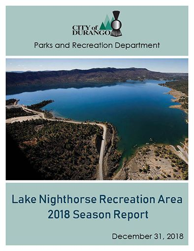 Lake Nighthorse Recreation Area 2018 Season Report