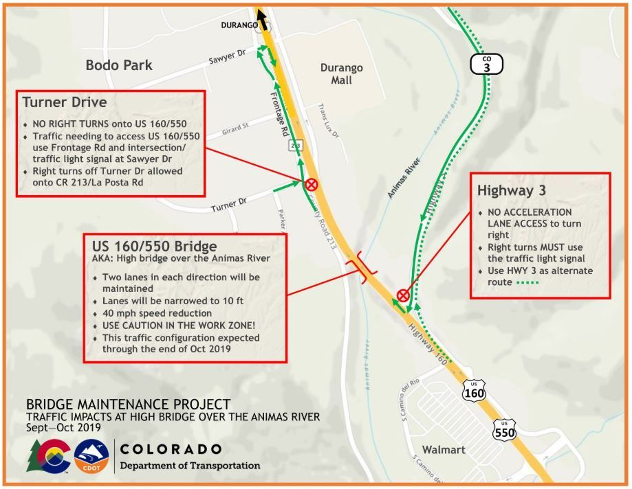 CDOT construction notice