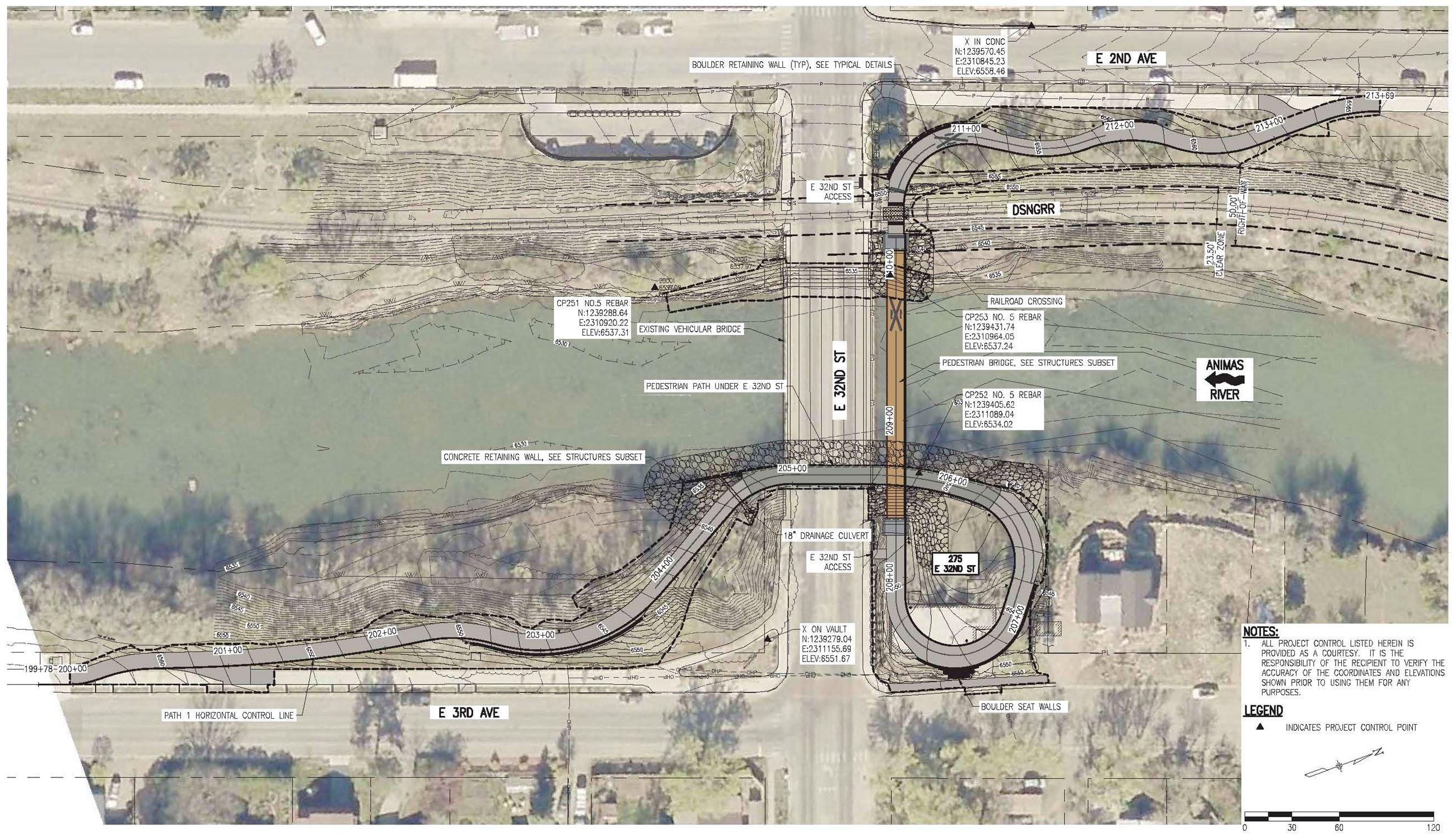 32nd St Crossing Site Plan 2021 Opens in new window