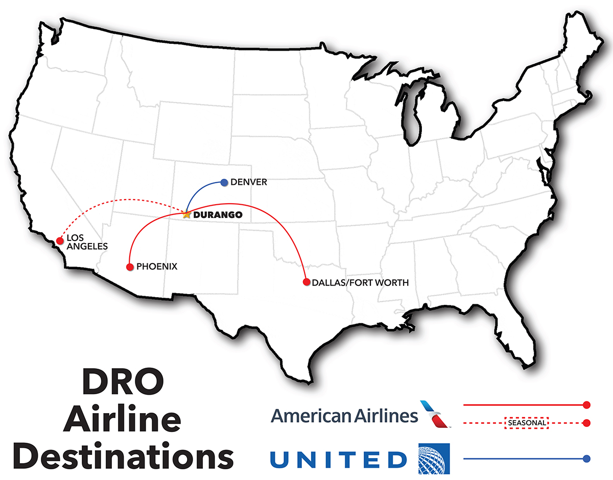 DRO Route Map