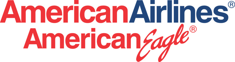 American Airlines and American Eagle logo