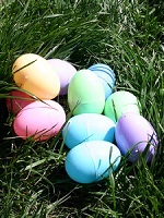 Easter eggs picture