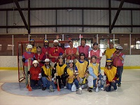 Broomball Team